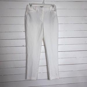White House Black Market white pants, sz 2